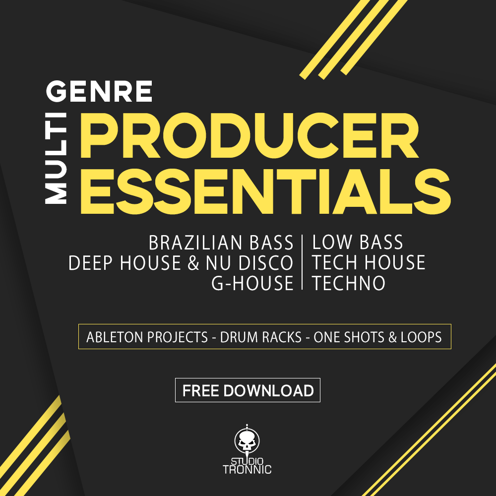 Producer Essentials Multi-Genre FREE - Studio Tronnic | Templates