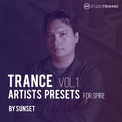Trance Artists Presets for Spire by Sunset